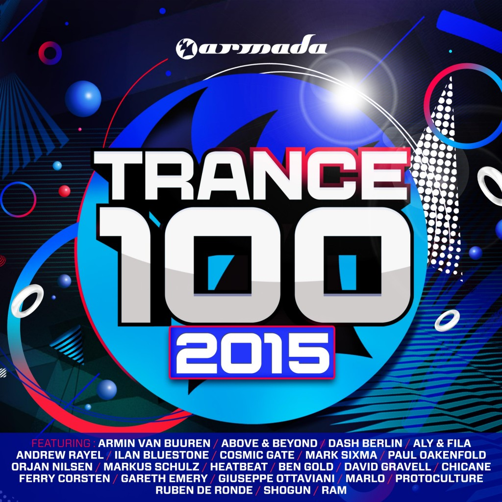Various Artists - Trance 100 - 2015 (front)-2